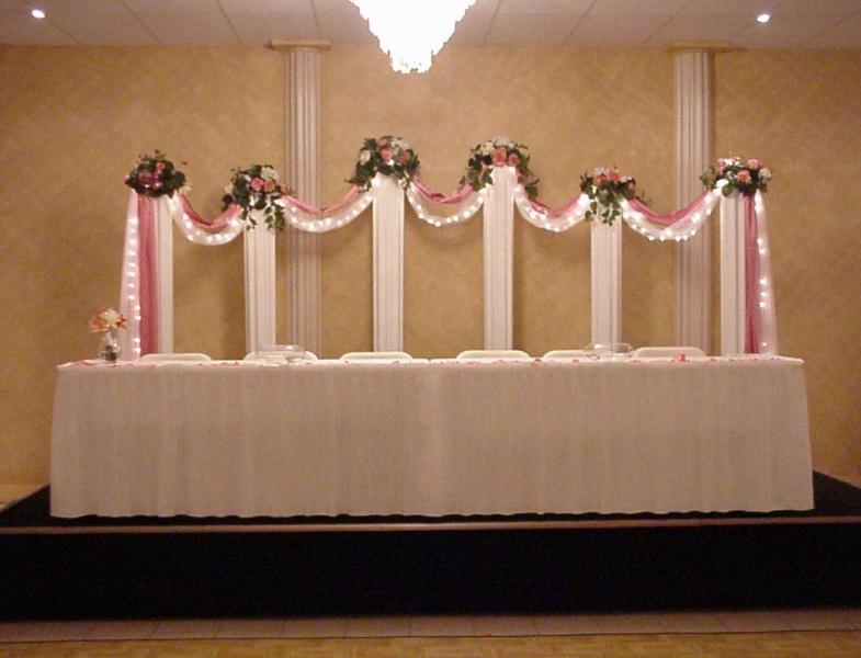 Shannons Custom Florals columns Wedding Rentals Springfield MO Eureka Springs (14)