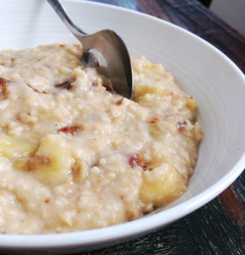 Caramello-Banana Porridge