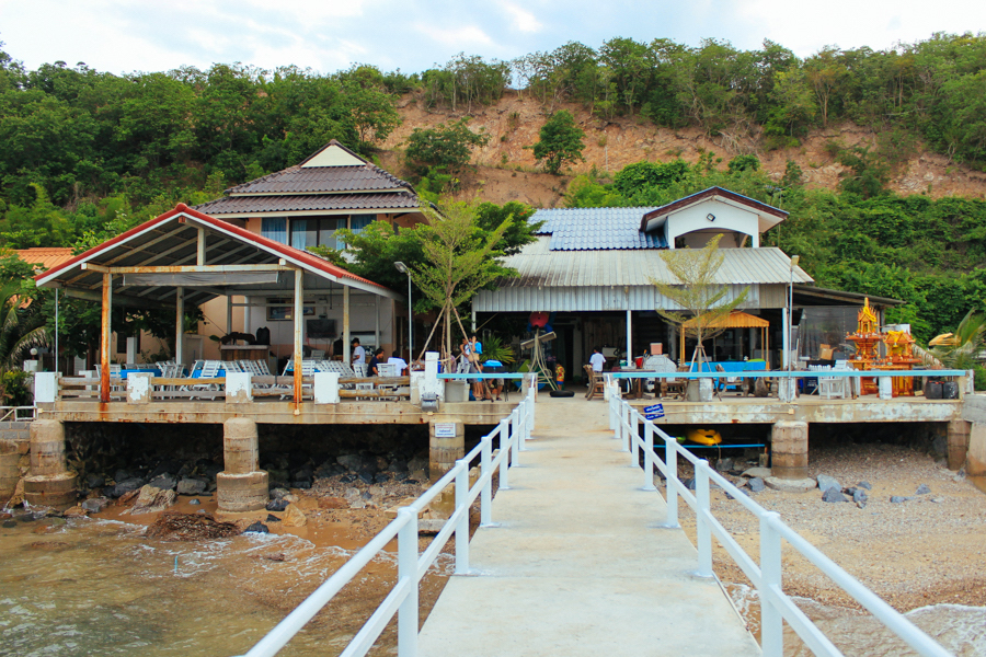 Affordable accommodation in Thailand at Sattahip.