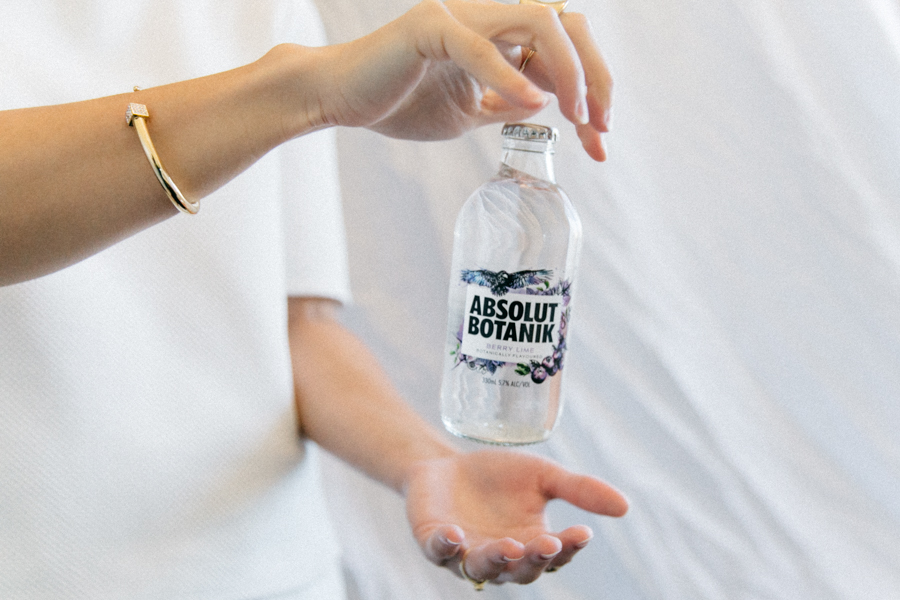 Absolut Australia editorial collaboration.