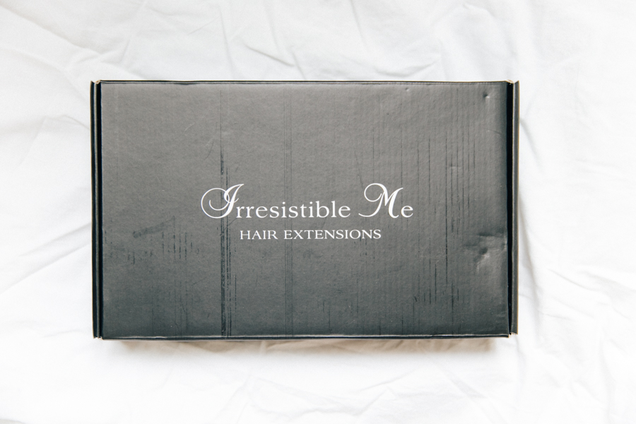 Irresistible Me hair extensions review.