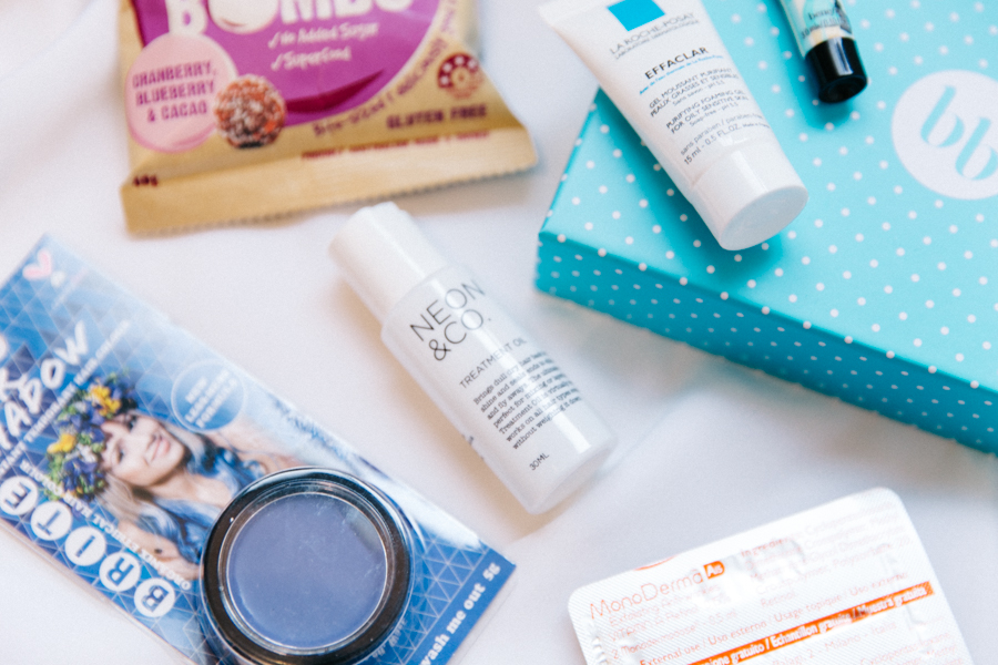 Monthly subscription beauty box.
