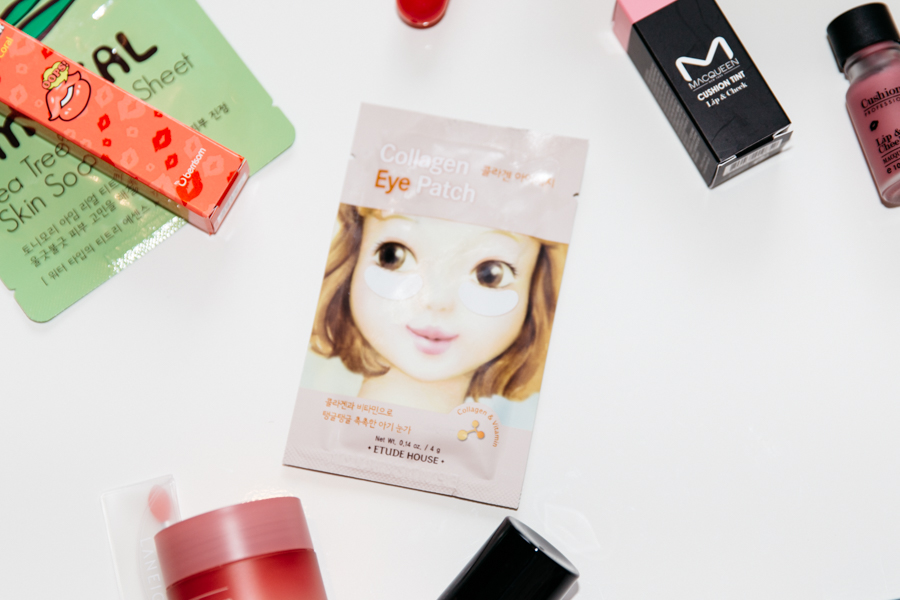 Etude House Collagen eye patch. Korean beauty products to try out.