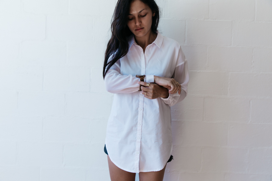 Sunday style button up shirt outfit. JORD watches.