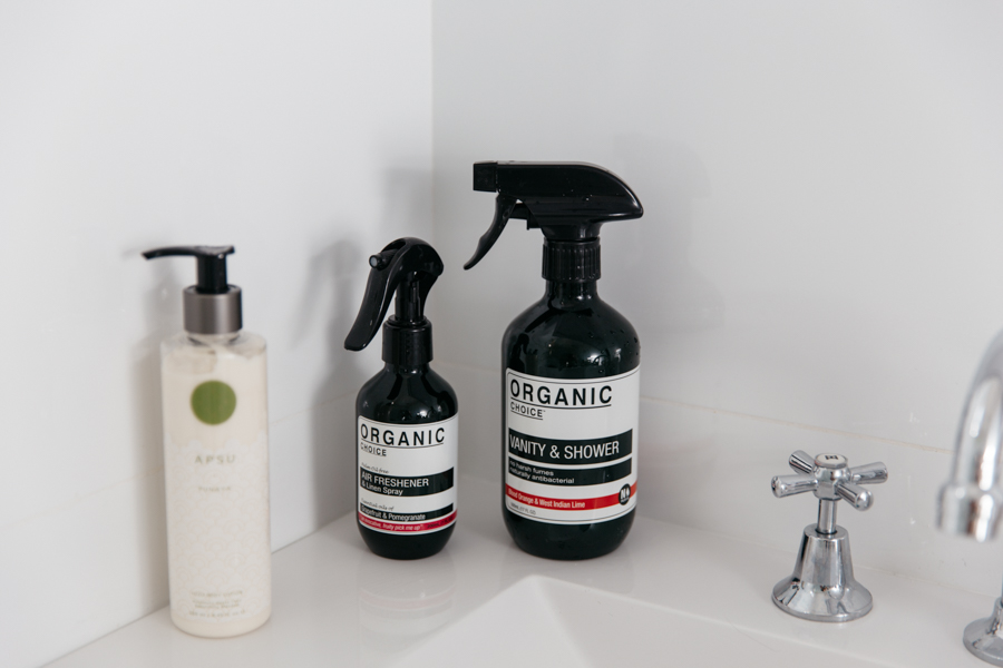 Quality organic cleaning products.
