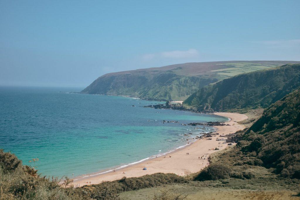 Kinnagoe Bay, County Donegal, Ireland Road trip idea