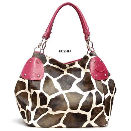 fuchsia-large-vicky-giraffe-print-faux-leather-satchel