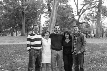 Bryan's family (+ Me)