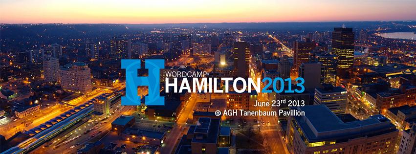 WordCamp Hamilton 2013