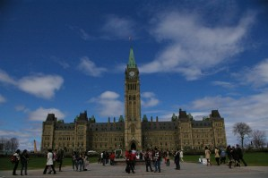 The Houses of Parliament in Ottawa