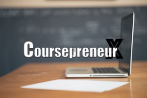 Coursepreneur with laptop