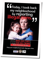 An Anti Crime Poster