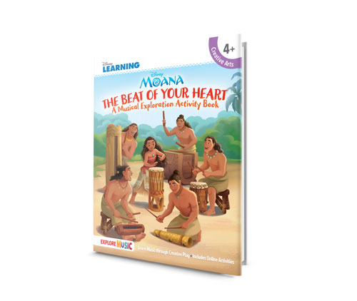 Moana and Hal Leonard Teach Us Lots of Ways to Keep the Beat