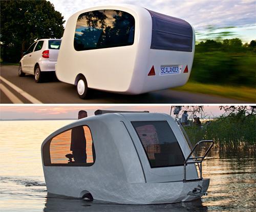 floating camper trailer shantyboatliving com