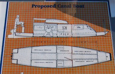 Canal Boat Plans