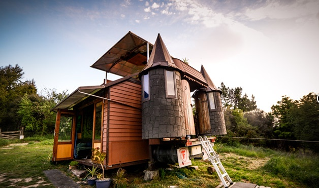 The Transforming Castle Truck - Living Big In A Tiny House - Living Big In A Tiny House.clipular