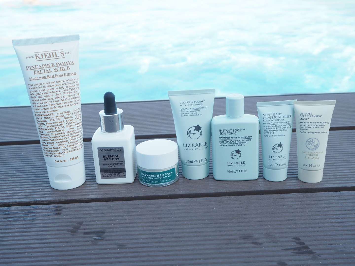 my travel skincare saviours