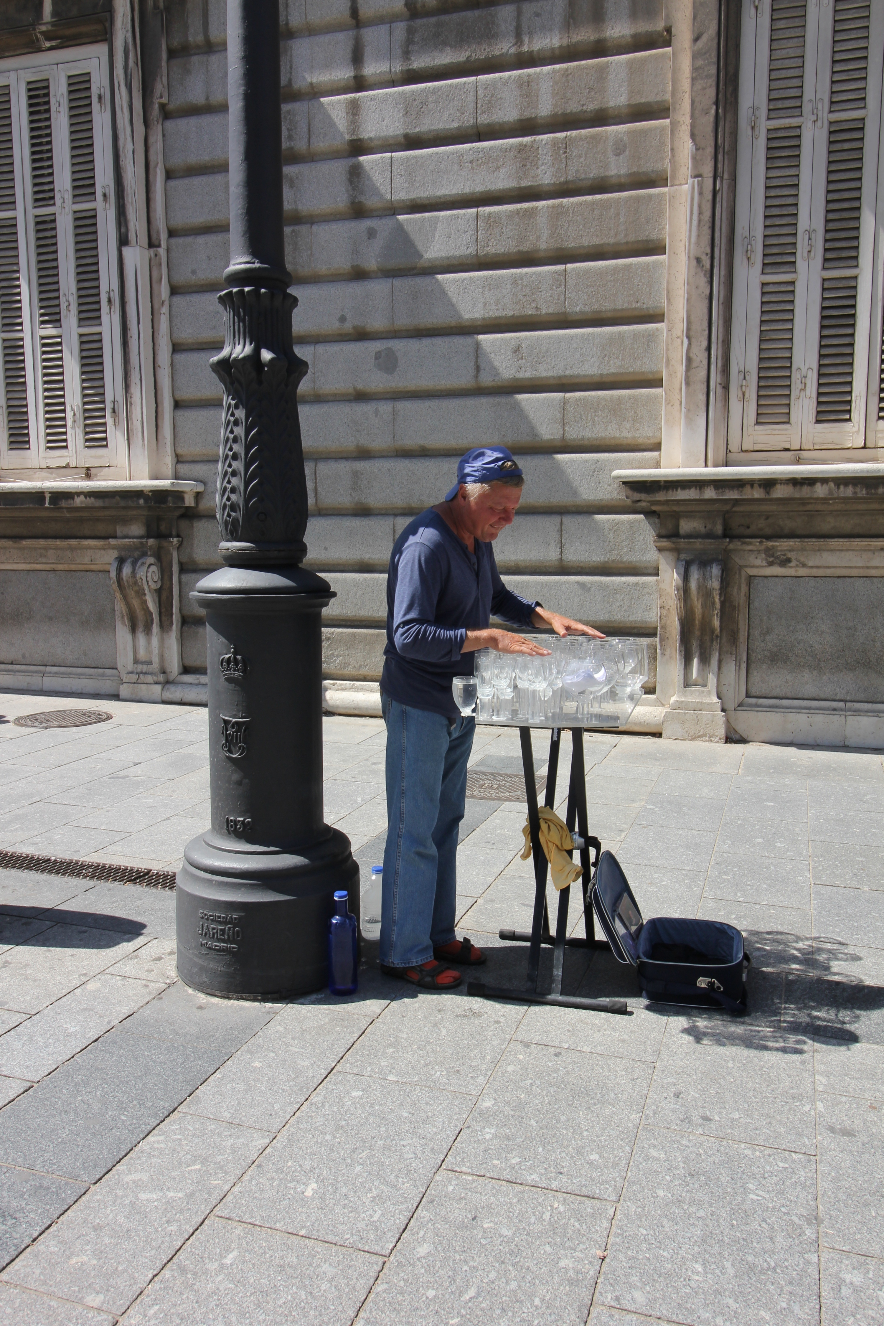 performer in madrid