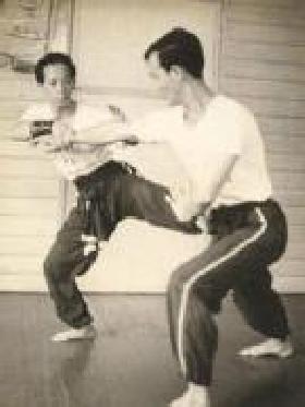 Ho Fatt Nam sparring