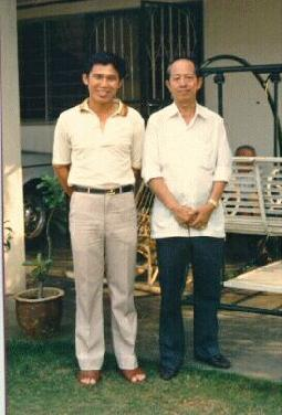 Sifu Wong and Sigung Ho