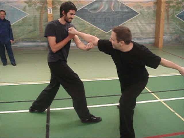 Shaolin Kungfu in combat