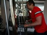 シュワルツ浅井、加圧BFRトレーニング