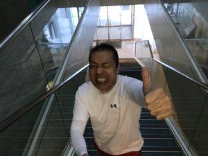シュワルツ浅井、階段が効くんです!!