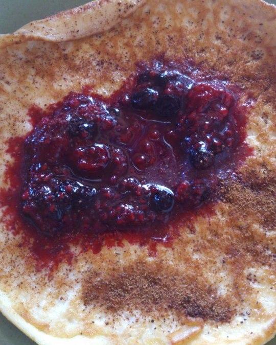 Lyxig helgfrukost – Pannkakor