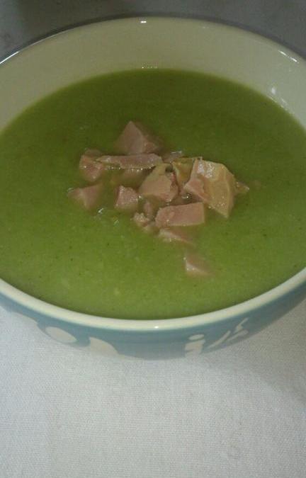 Blomkål och broccoli soppa.