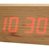 kouji iwasaki : to:ca wood LED clock