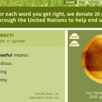 freerice + canada's lack of support to end world hunger.
