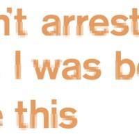 craig oldham: nudist typeface.