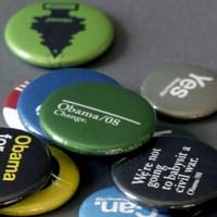 trollbäck + company: obama buttons.