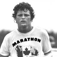 myself + appendicitis =  thoughts of terry fox.
