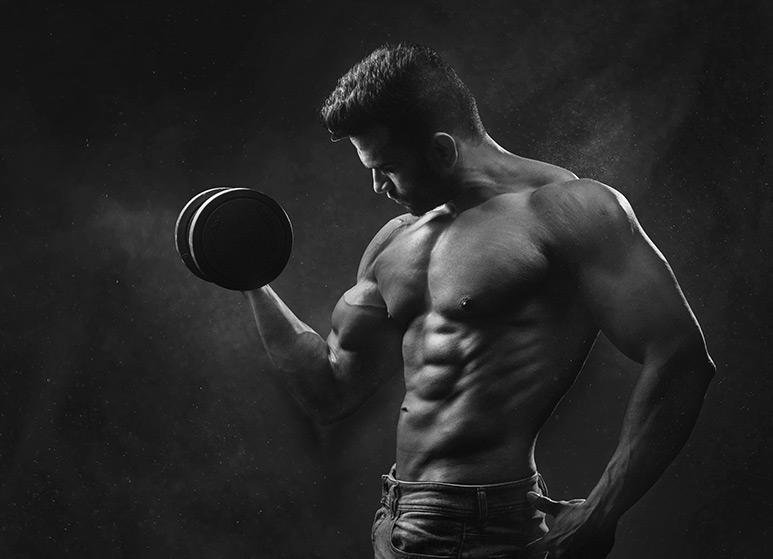 Fitness Model met Dumbell