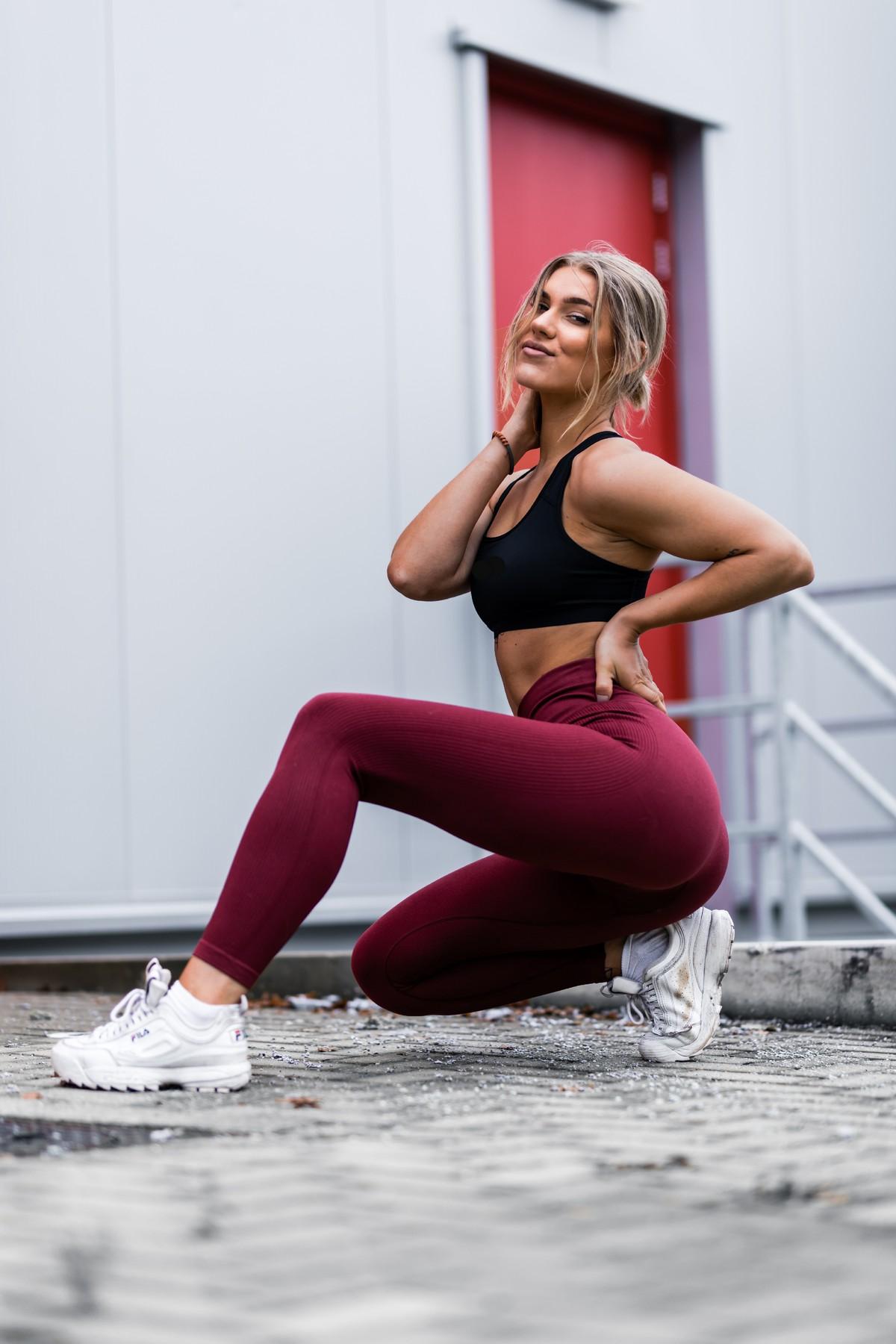 High waist dameslegging