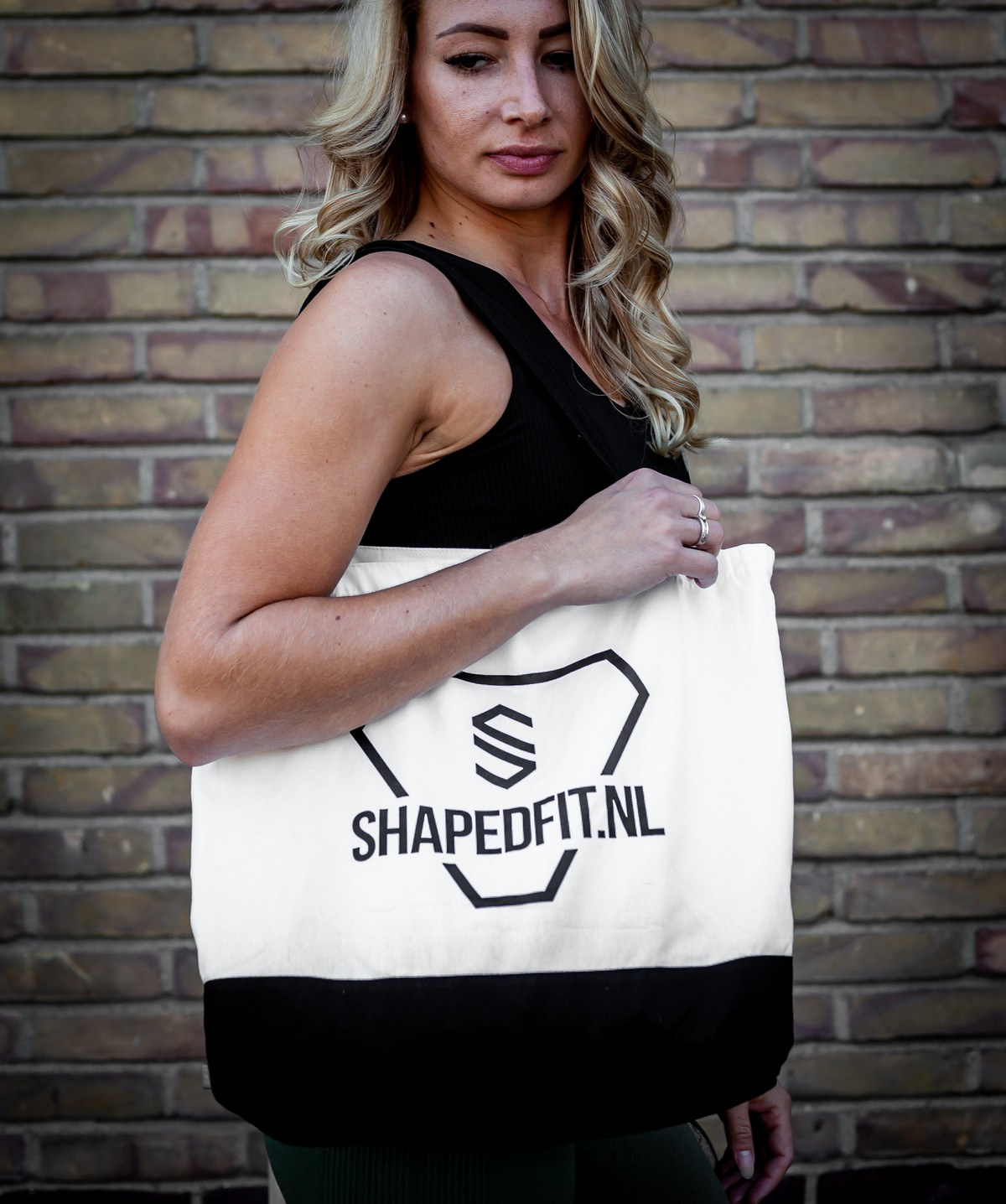 Shaped shopper herbruikbaar