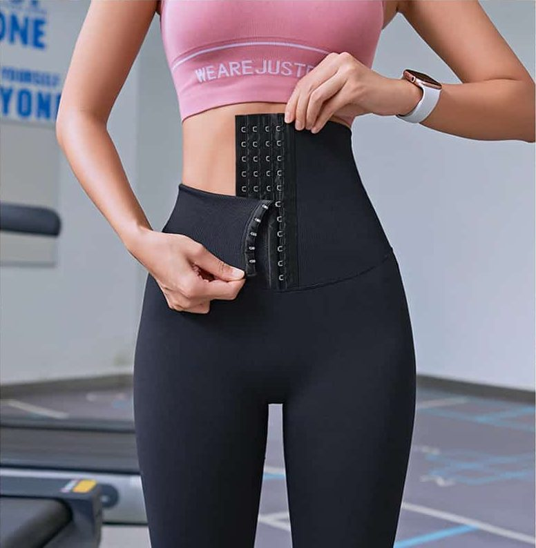Gymjogs - Waist High Leggings black