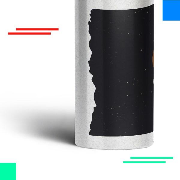 Botella para agua MORTY SPACE
