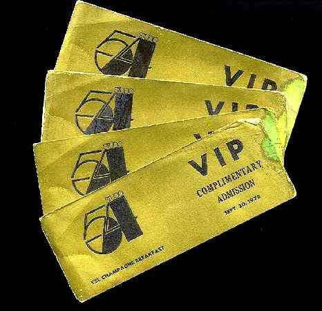 Studio 54, VIP, tickets