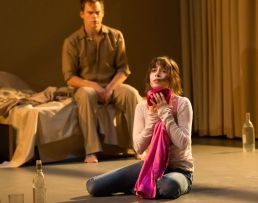 Lazarus, theatre, musicals, New York Theatre Workshop, Michael C. Hall, Cristin Milioti