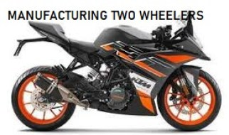 MANUFACTURING INDUSTRIES: TWO WHEELERS