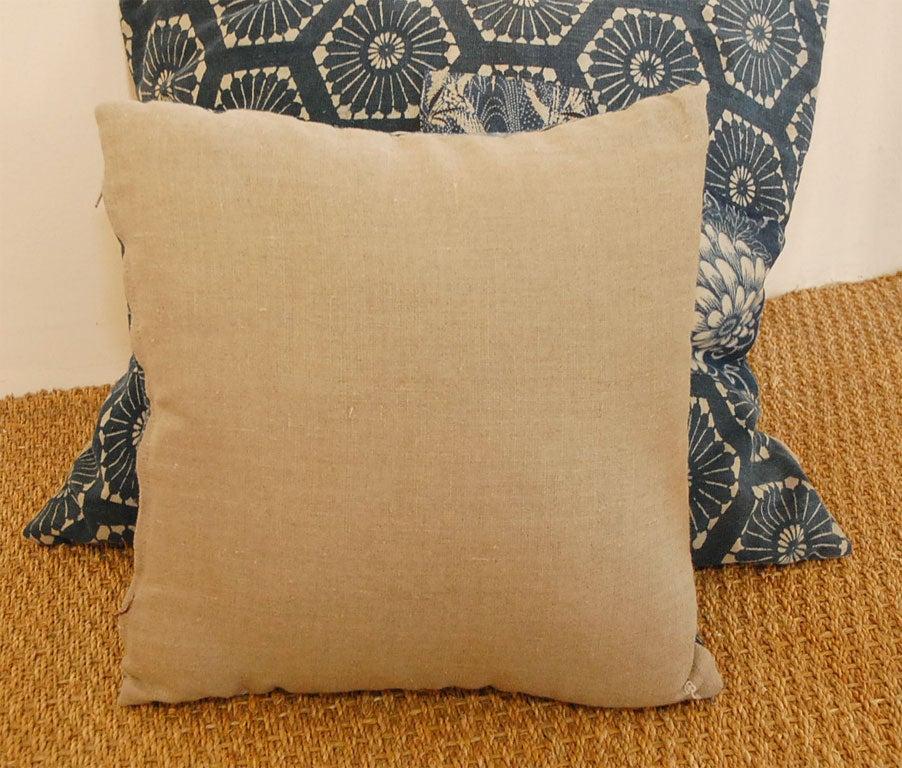 Japanese Indigo Patchwork PillowsNatural Non Allergic