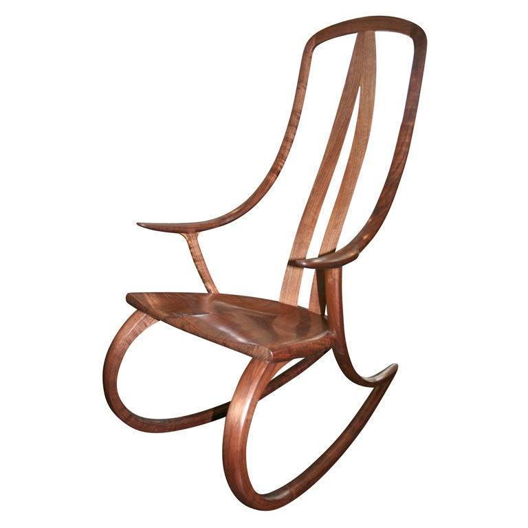 Handmade Signature Rocking Chair By David Haig At 1stdibs