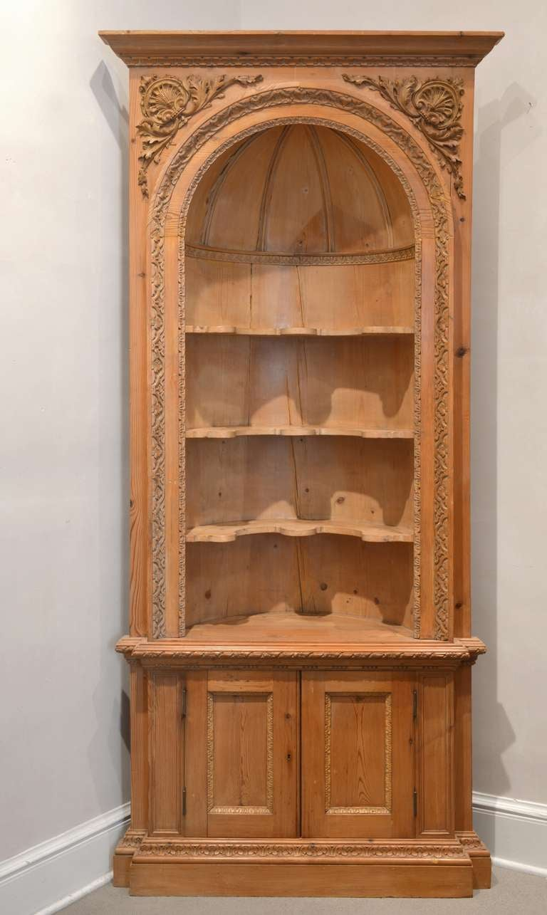 Pair Of 19th Century French Corner Cabinets At 1stdibs