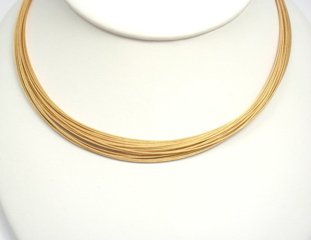 Tiffany And Co Multi Strand Circle Necklace