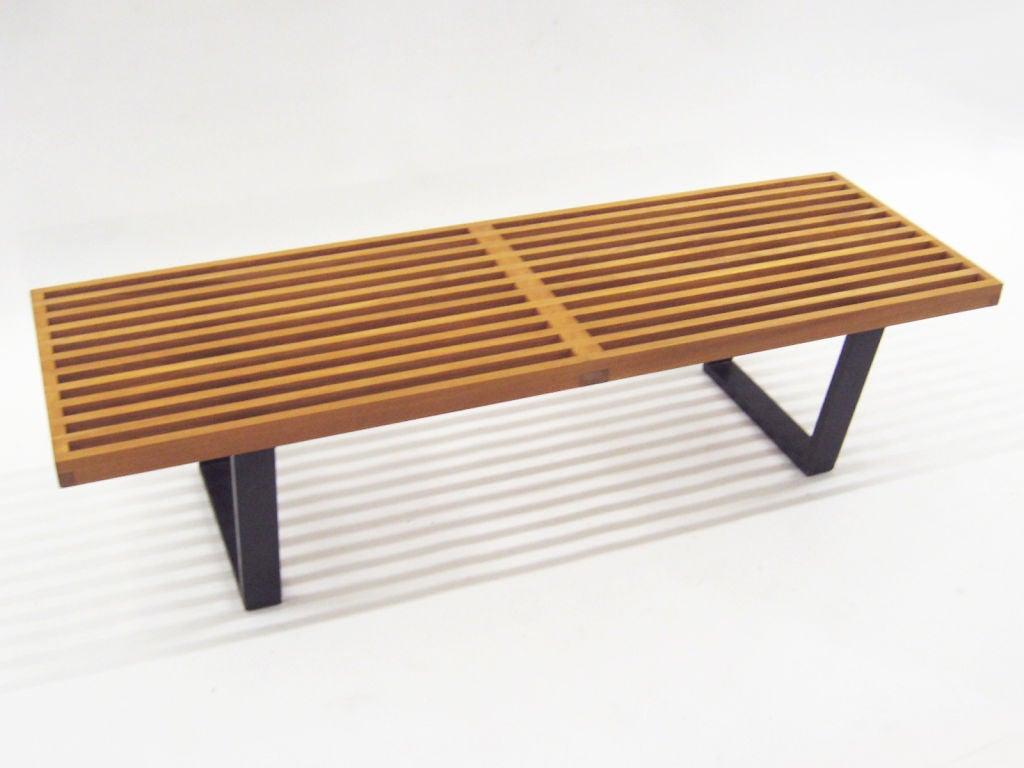 George Nelson Slat Platform Bench By Herman Miller Mint