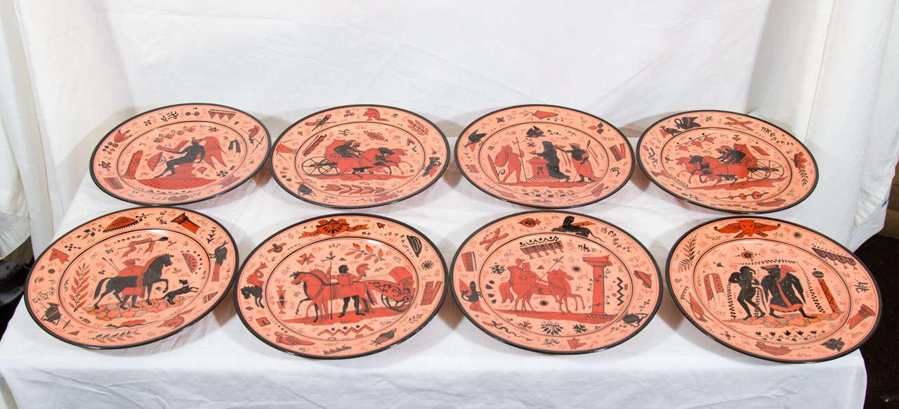 & Terracotta Dinner Plates Dishes