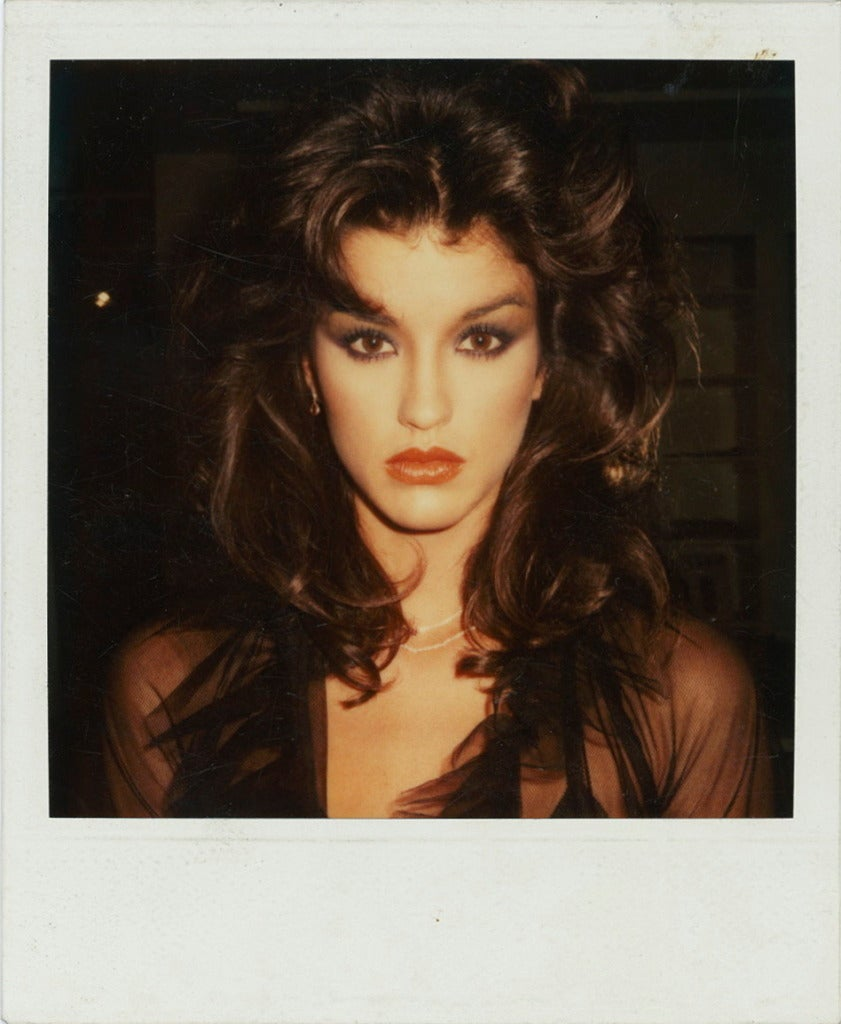 Janice Dickinson Polaroid Photograph