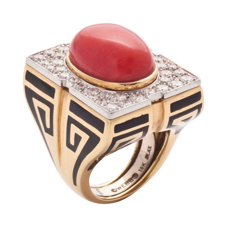 1970s cocktail ring